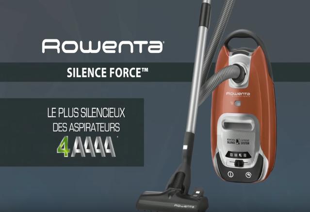aspirateur rowenta silence force 4a ro6432ea 750w 162 9 amazon. Black Bedroom Furniture Sets. Home Design Ideas