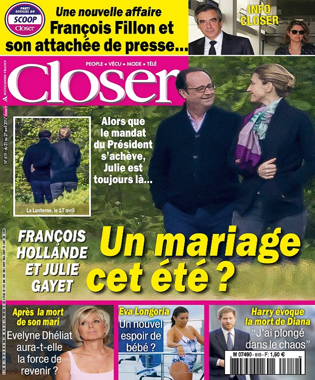 télécharger Closer N°619 Du 21 au 27 Avril 2017
