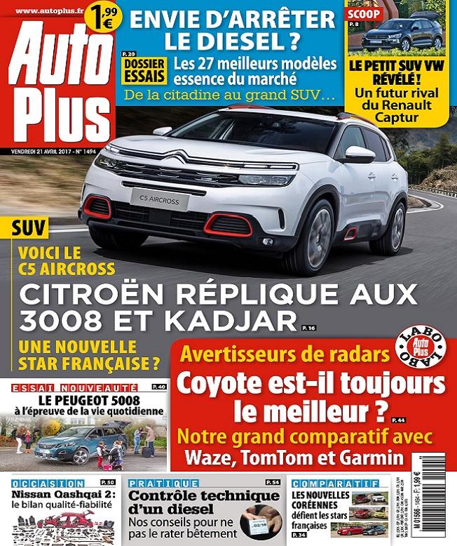 Auto Plus N°1494 Du 21 au 27 Avril 2017