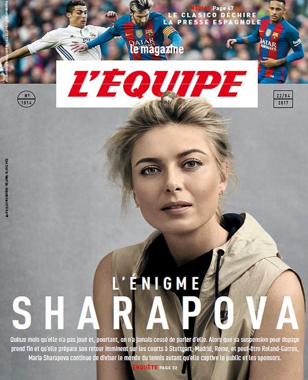 L'Equipe Magazine N°1814 Du 22 Avril 2017