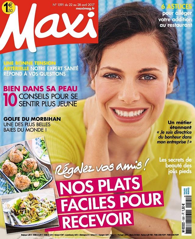 Maxi N°1591 Du 22 au 28 Avril 2017