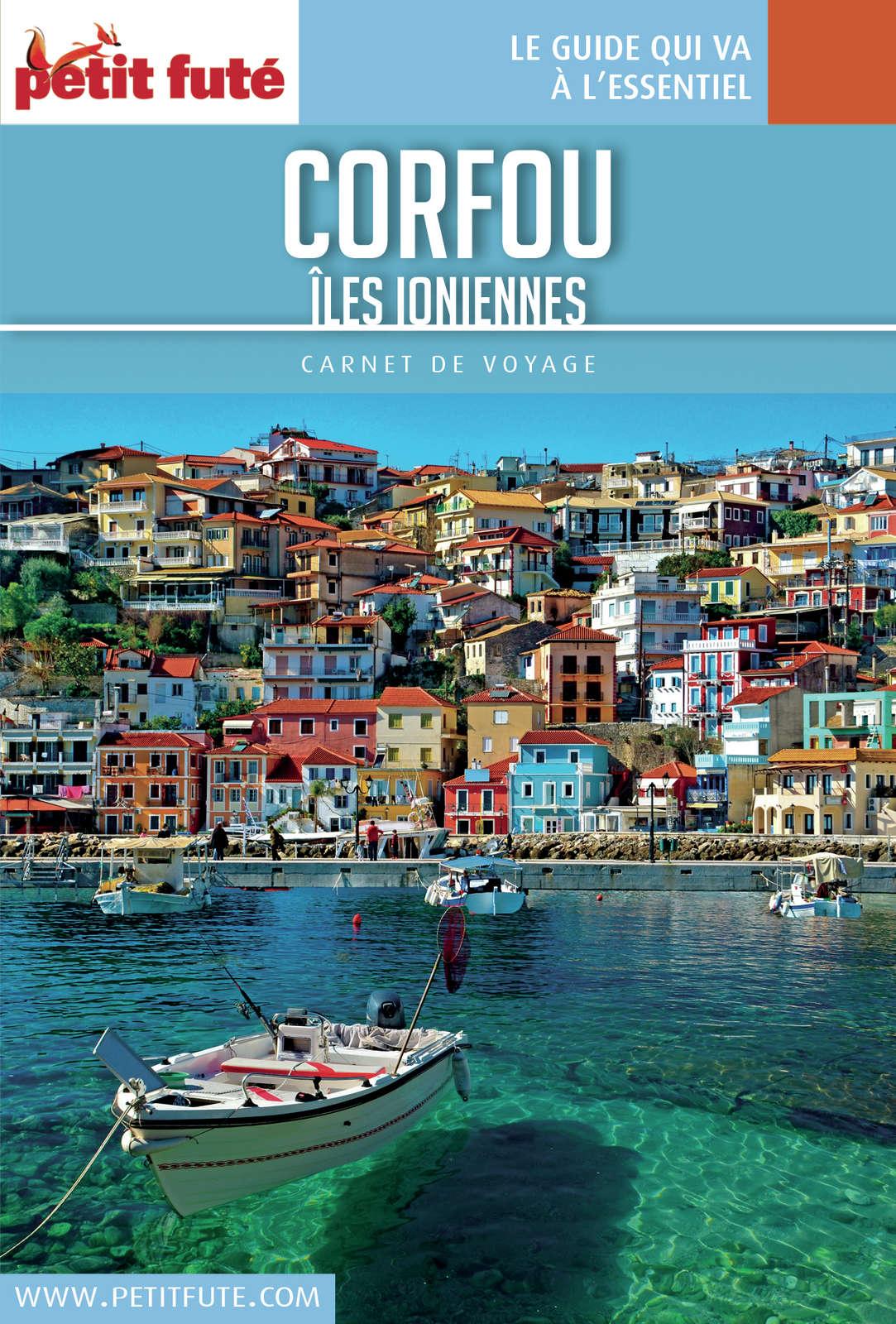 Carnet de voyage - Corfou / Îles ioniennes 2016/2017