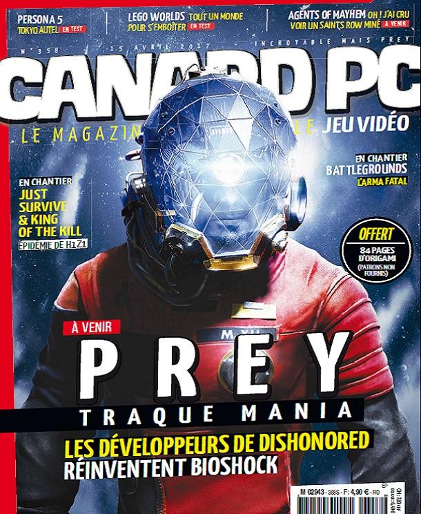 Canard PC N°358 Du 15 Avril 2017
