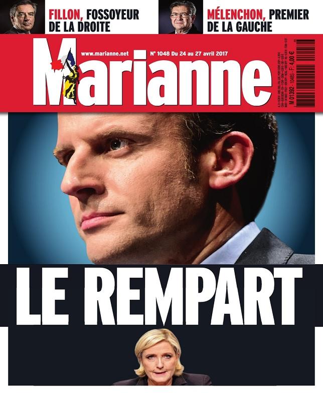 télécharger Marianne N°1048 Du 24 Avril au 27 Mai 2017