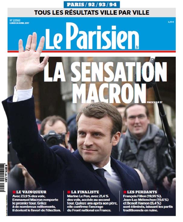 télécharger Le Parisien + Supplément Présidentielles Du Lundi 24 Avril 2017