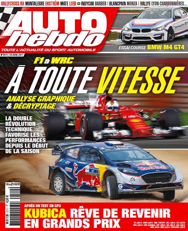 télécharger Auto Hebdo N°2111 Du 26 Avril 2017