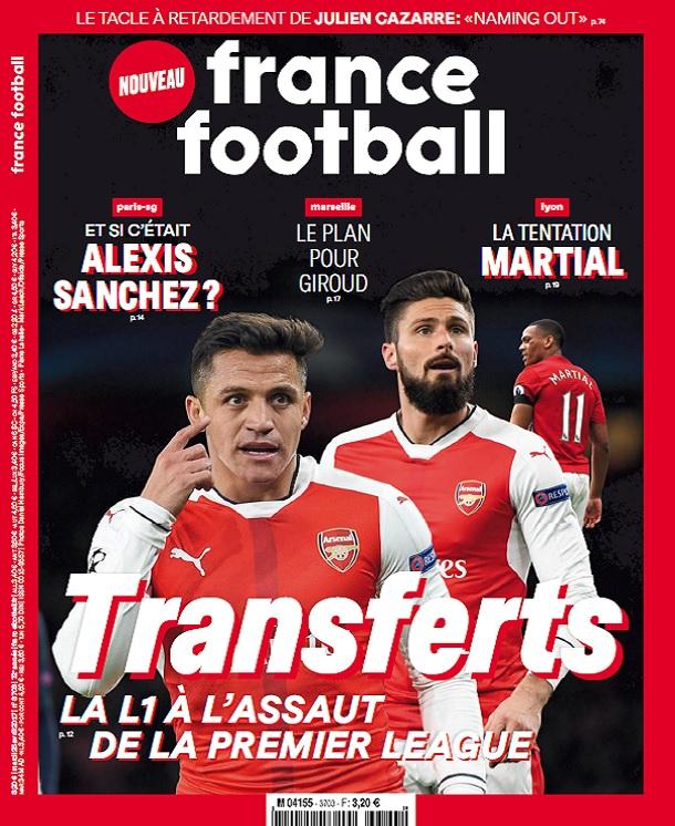 télécharger France Football N°3703 Du 25 Avril 2017