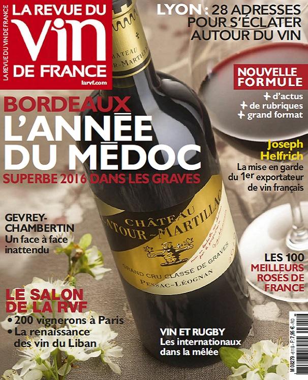télécharger La Revue Du Vin De France N°611 - Mai 2017