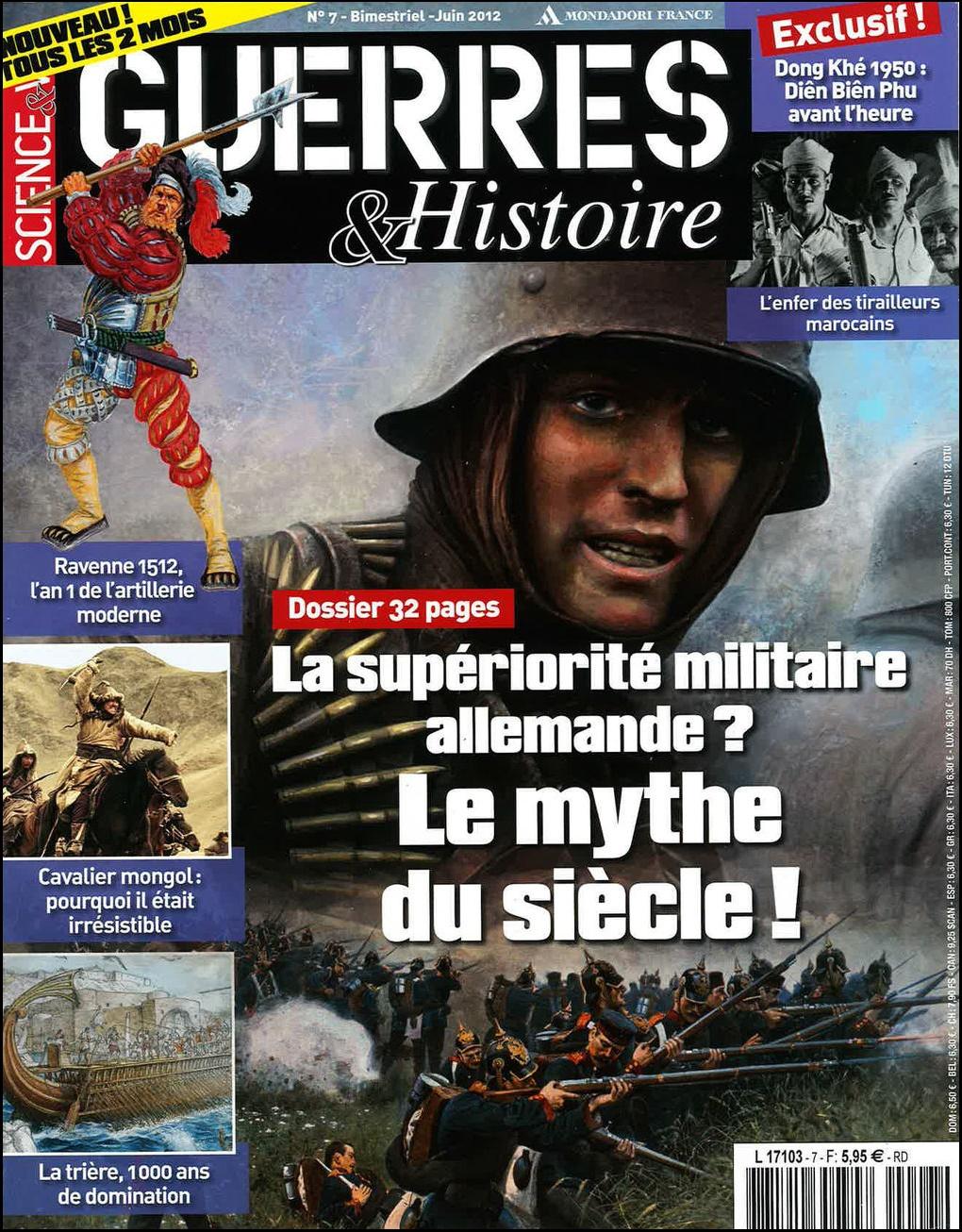 Science et Vie Guerres et Histoire N°7 - la Supériorité Militaire Allemande : Le Mythe du Siècle !