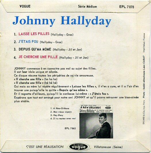 Johnny Chante les Filles 170427015351420974