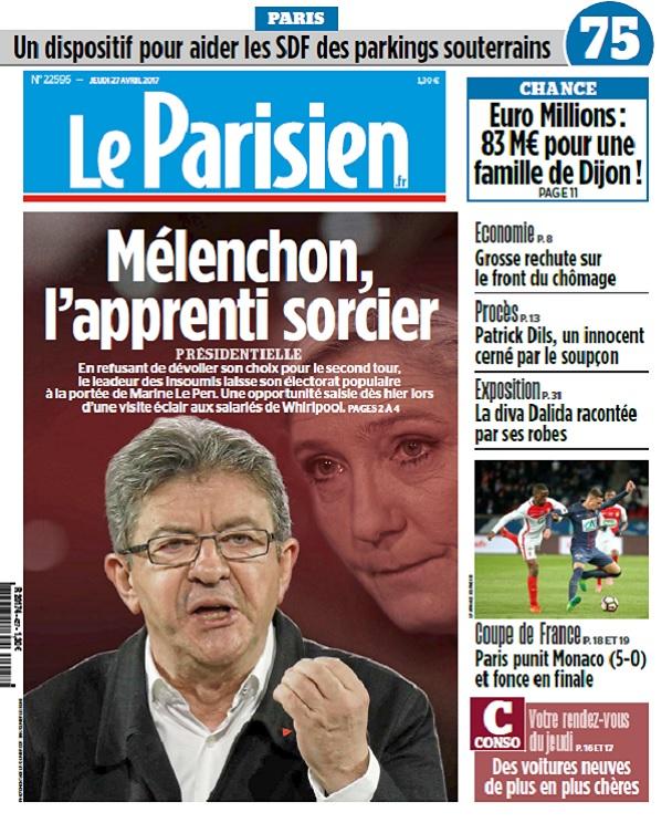 télécharger Le Parisien Du Jeudi 27 Avril 2017