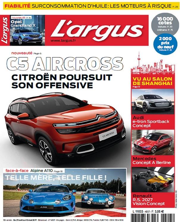 télécharger L'Argus N°4507 Du 27 Avril au 10 Mai 2017