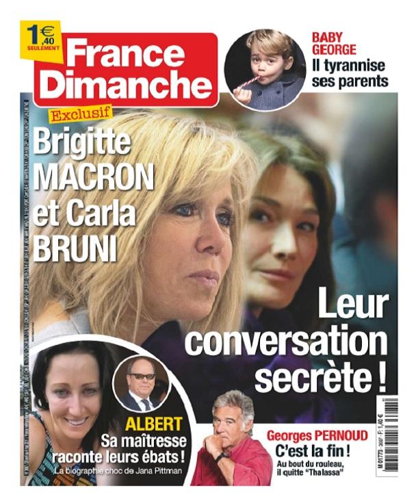 télécharger France Dimanche N°3687 Du 28 Avril au 4 Mai 2017