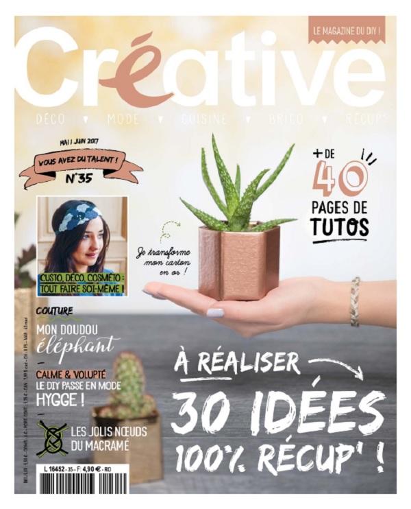 télécharger Créative N°35 - Mai-Juin 2017