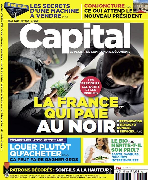 télécharger Capital N°308 - Mai 2017