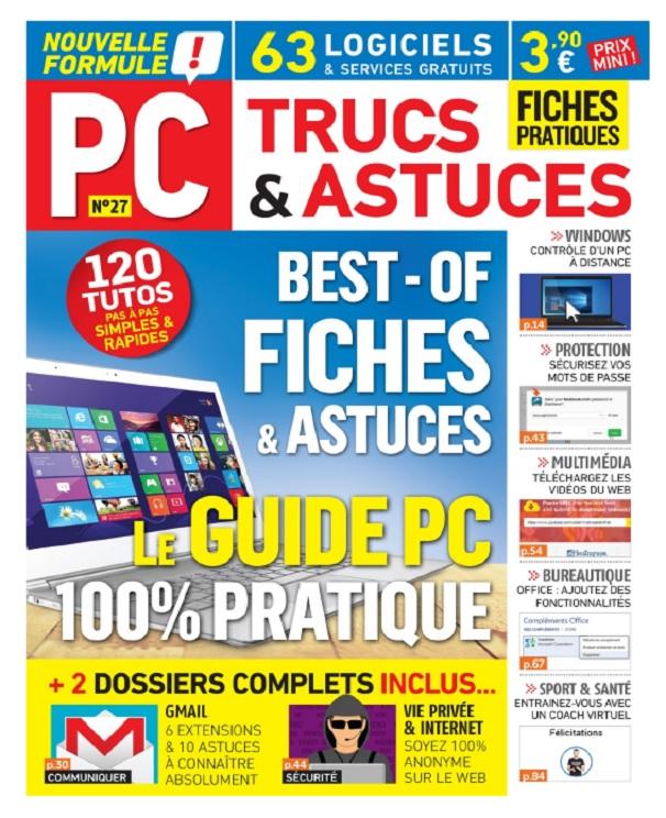 télécharger PC Trucs et Astuces N°27 - Mai-Juillet 2017
