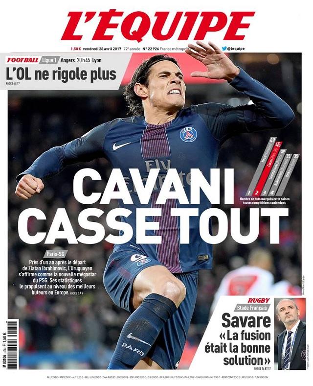 télécharger L'Equipe Du Vendredi 28 Avril 2017