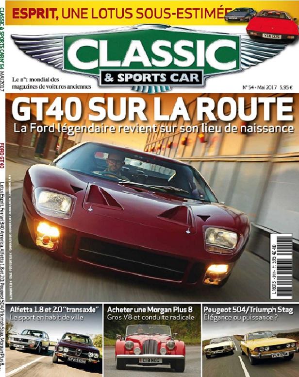 télécharger Classic et Sports Car N°54 - Mai 2017