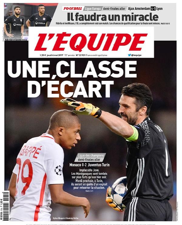 télécharger L'Equipe Du Jeudi 4 Mai 2017