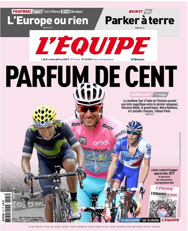 télécharger L'Equipe Du Vendredi 5 Mai 2017