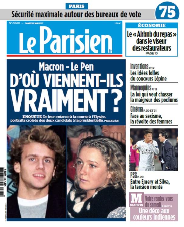 télécharger Le Parisien + Journal De Paris Du Samedi 6 Mai 2017