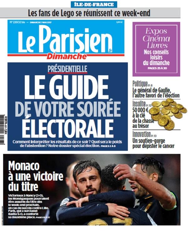 télécharger Le Parisien Du Dimanche 7 Mai 2017