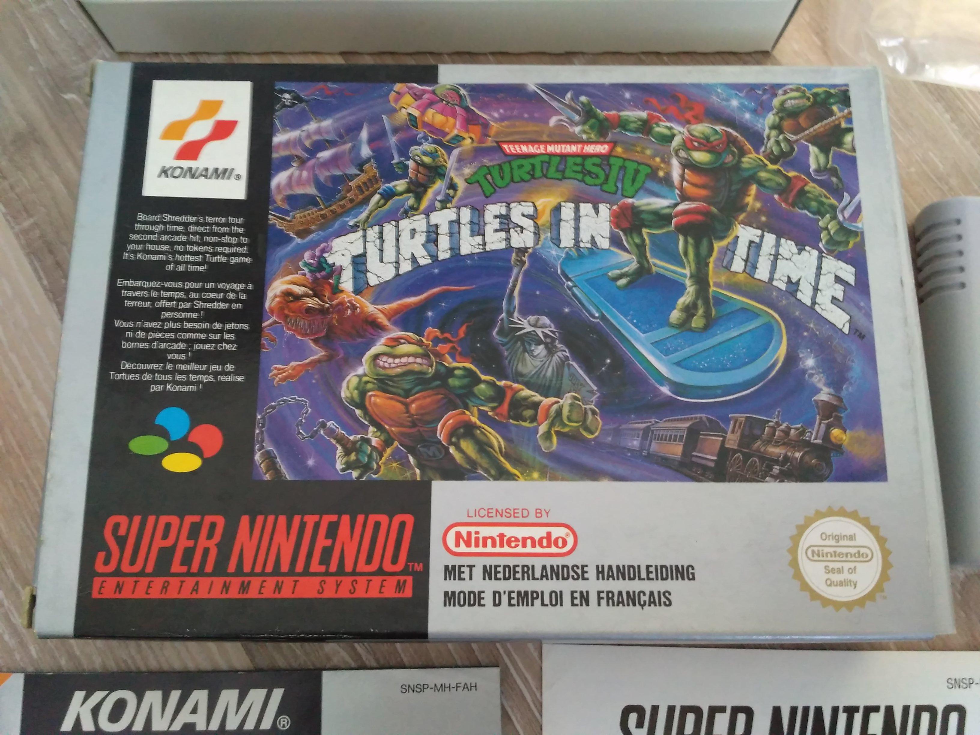 [EST/AIDE] Turtles in time SNES FAH 170509054834273092