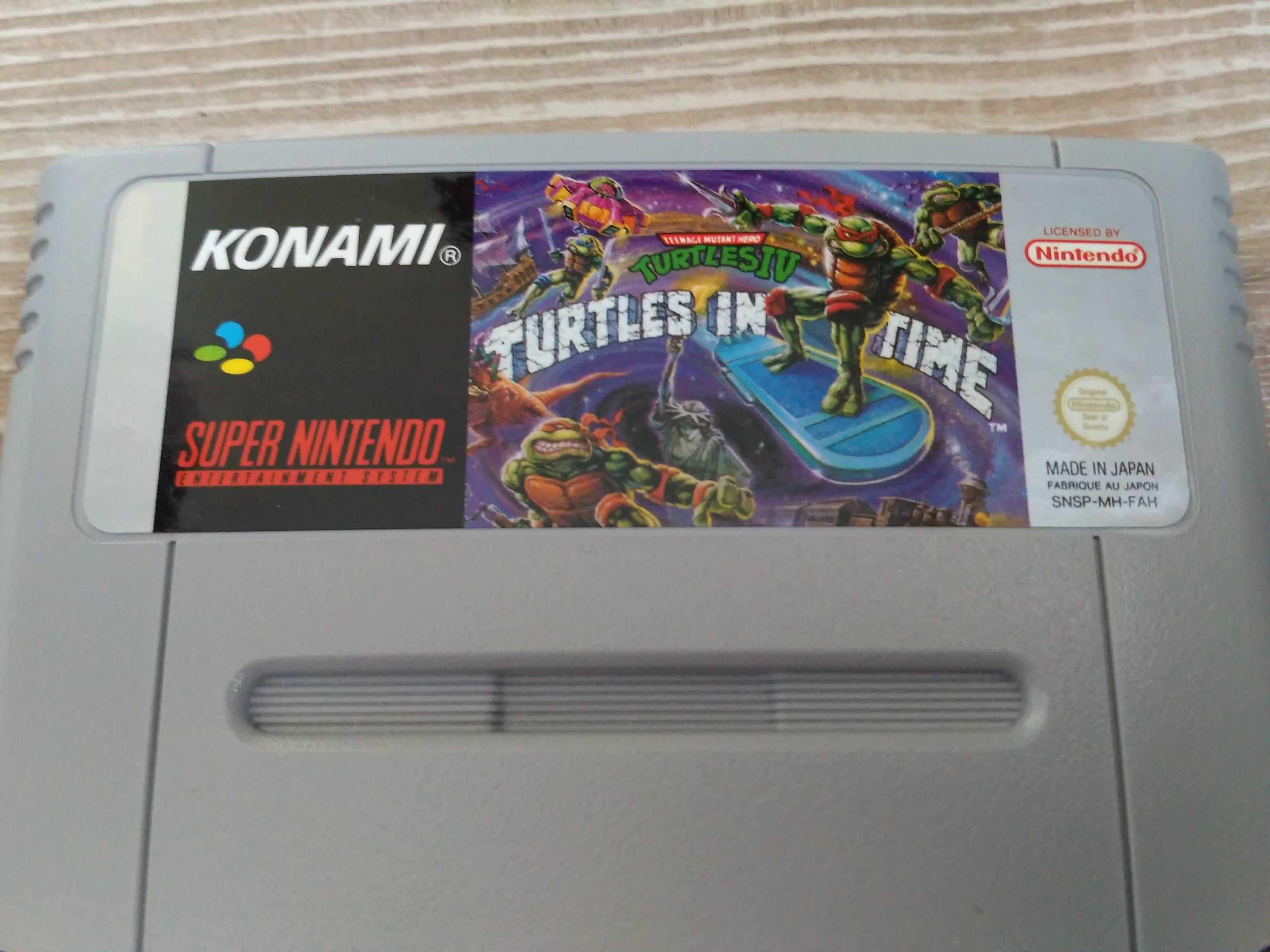 [EST/AIDE] Turtles in time SNES FAH 170509054834524494