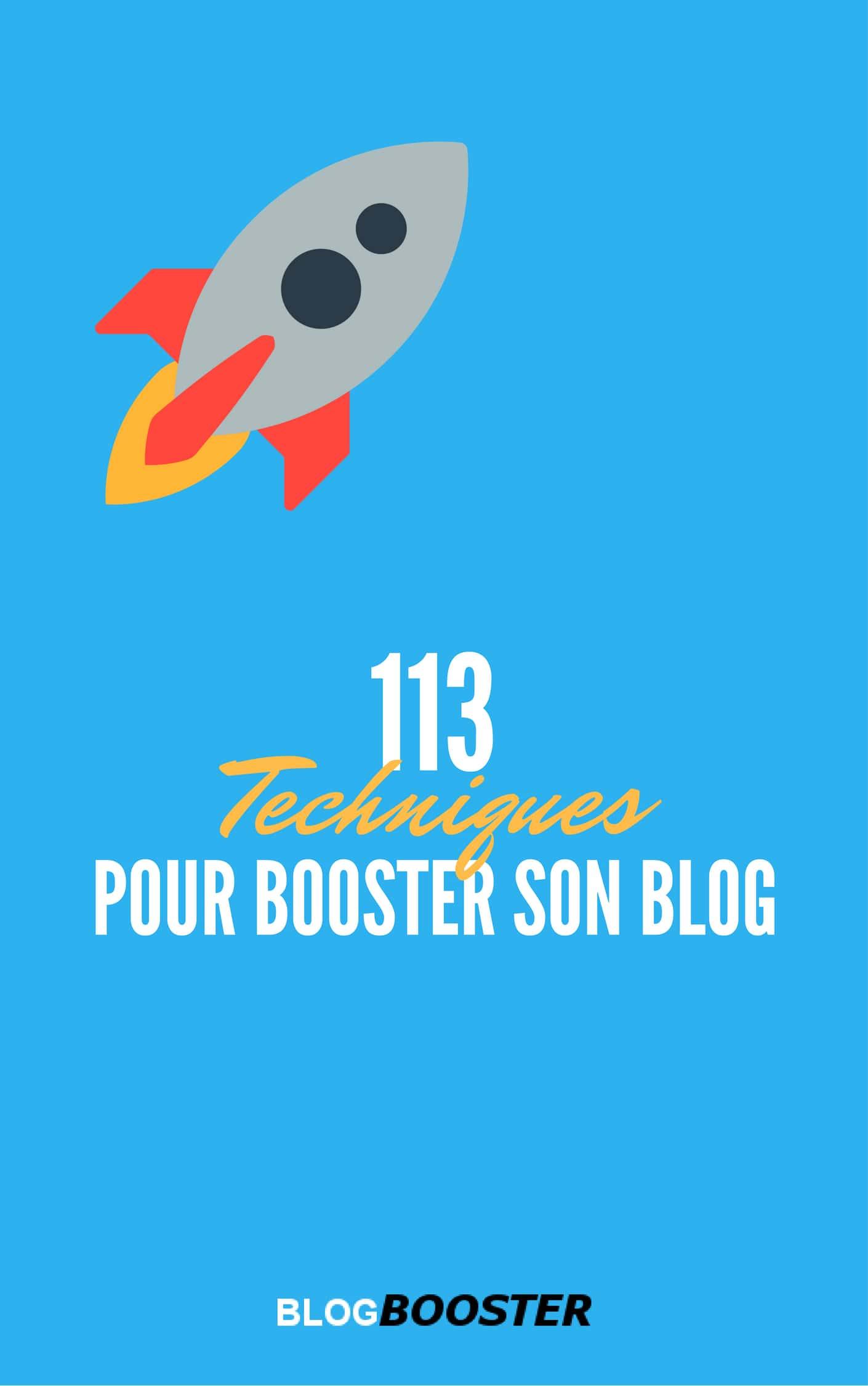 télécharger 113 Techniques Pour Booster son Blog ( Mai 2017 )