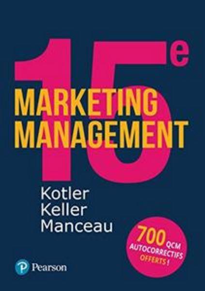 télécharger Marketing Management + Quiz - Philip Kotler