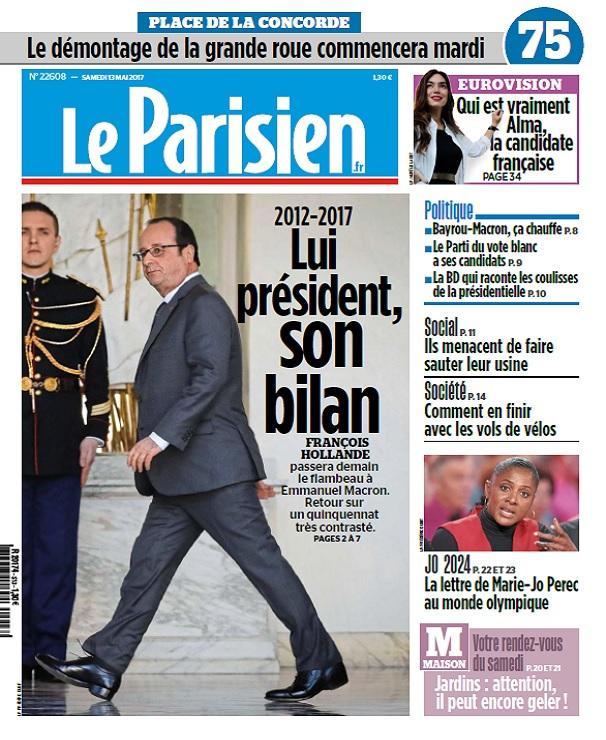 télécharger Le Parisien + Journal De Paris Du Samedi 13 Mai 2017