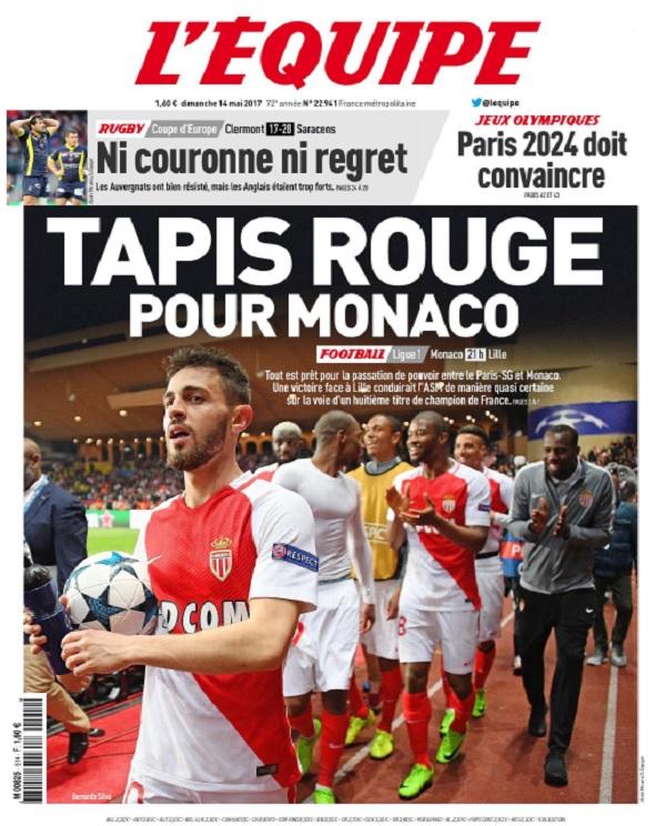 télécharger L'Equipe Du Dimanche 14 Mai 2017