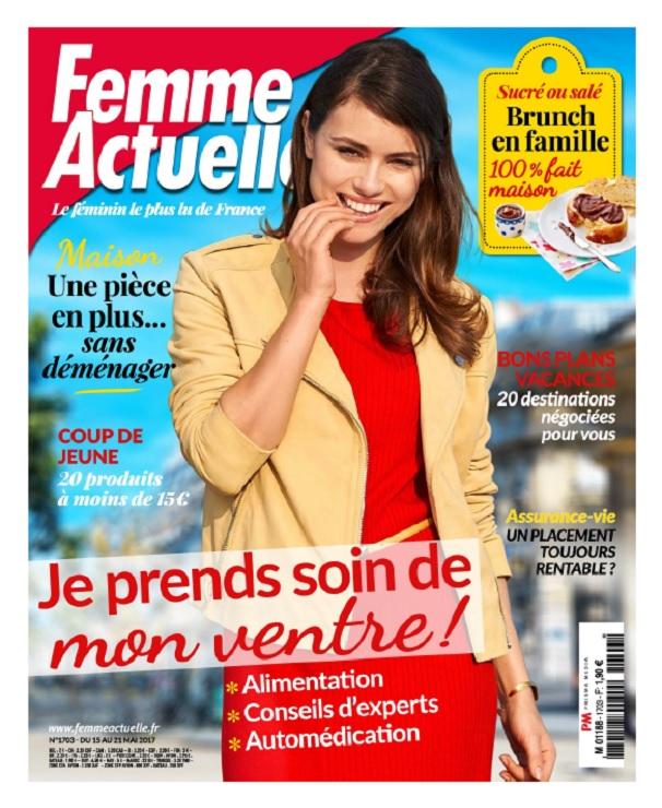 télécharger Femme Actuelle N°1703 Du 15 au 21 Mai 2017