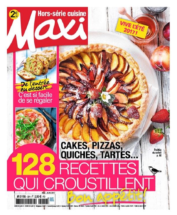 télécharger Maxi Hors Série Cuisine N°34 - Mai-Juin 2017
