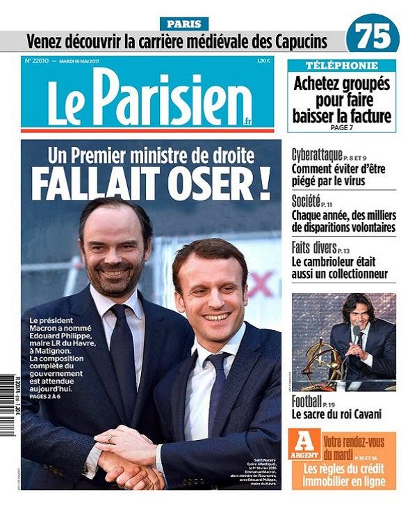 télécharger Le Parisien Du Mardi 16 Mai 2017