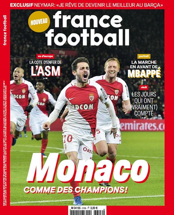 télécharger France Football N°3706 Du Mardi 16 Mai 2017