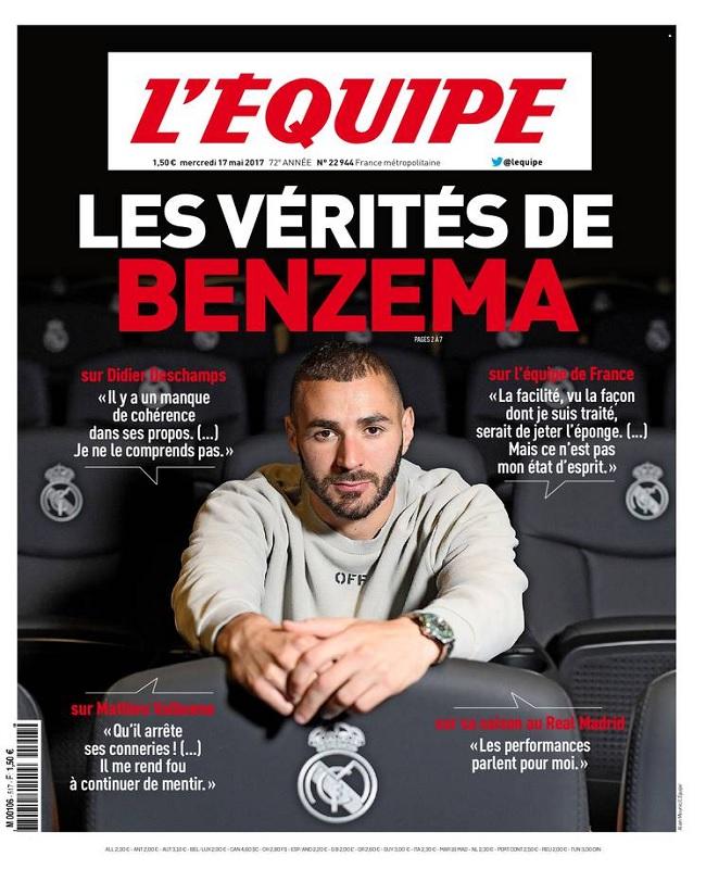télécharger L'Equipe Du Mercredi 17 Mai 2017