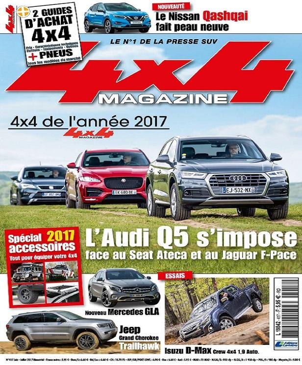 télécharger 4x4 Magazine N°417 - Juin-Juillet 2017