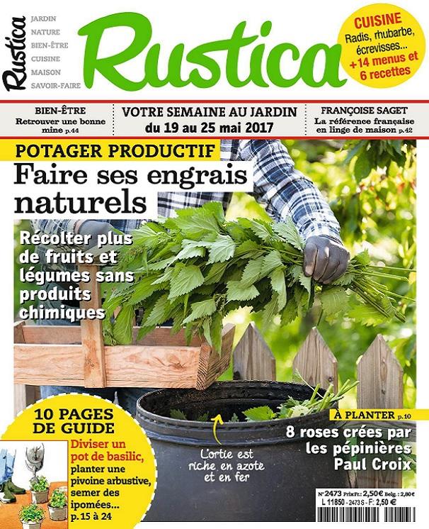 télécharger Rustica N°2473 Du 19 Au 25 Mai 2017