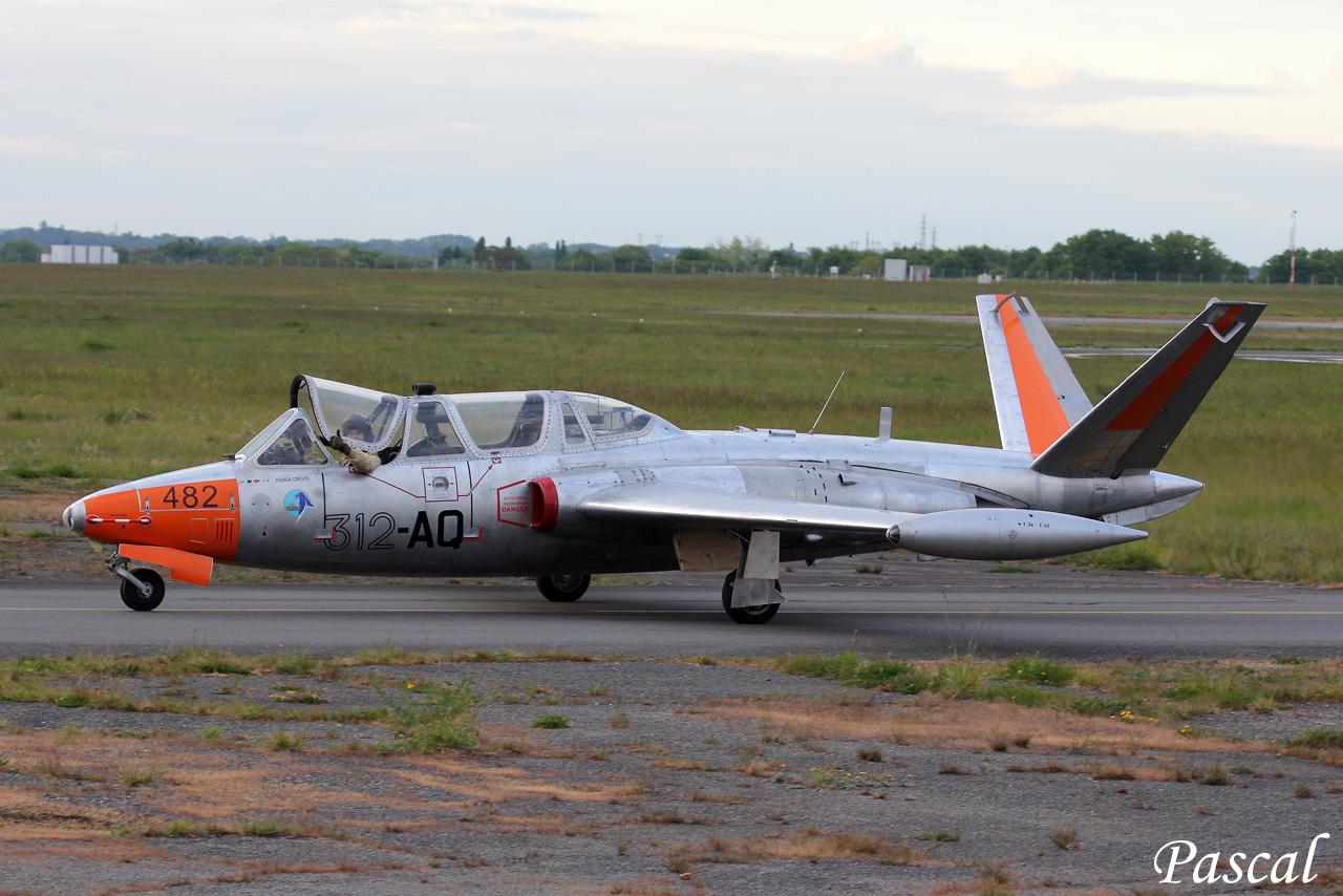 Coupe GIFAS 2017 - Fouga N° 482 du musée aéronautique de Bretagne 170518103808415608