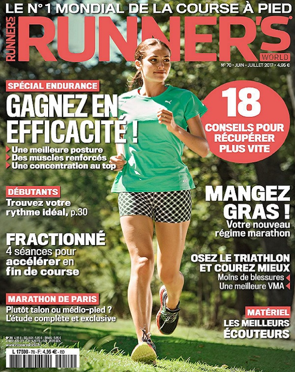 Runner's World N°70 - Juin-Juillet 2017