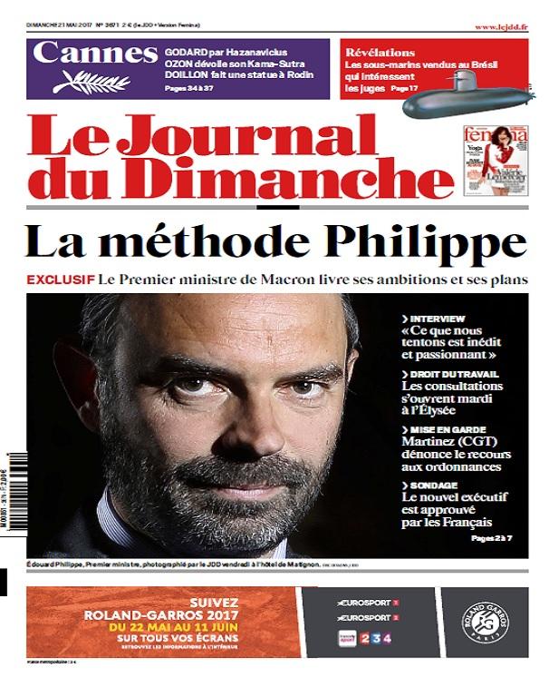 télécharger Le Journal Du Dimanche N°3671 Du 21 Mai 2017