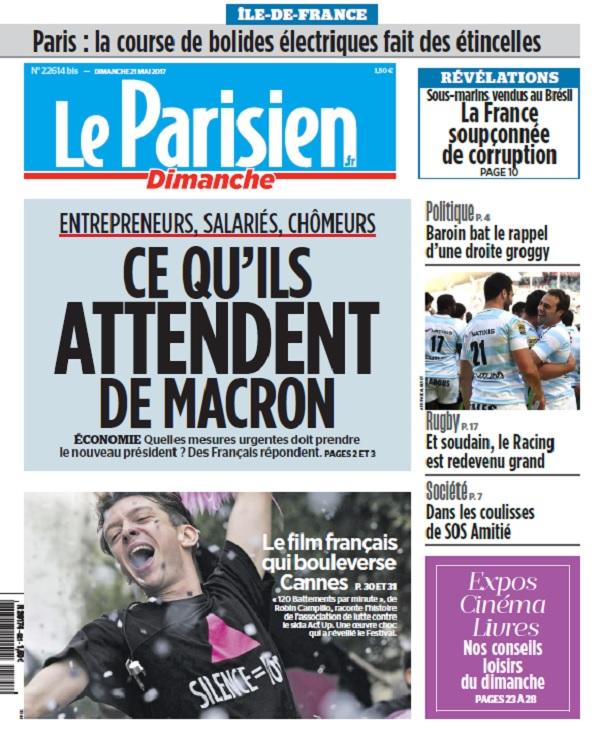 télécharger Le Parisien Du Dimanche 21 Mai 2017