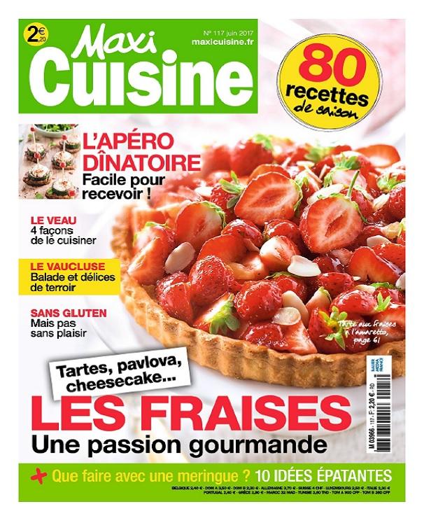 télécharger Maxi Cuisine N°117 - Juin 2017