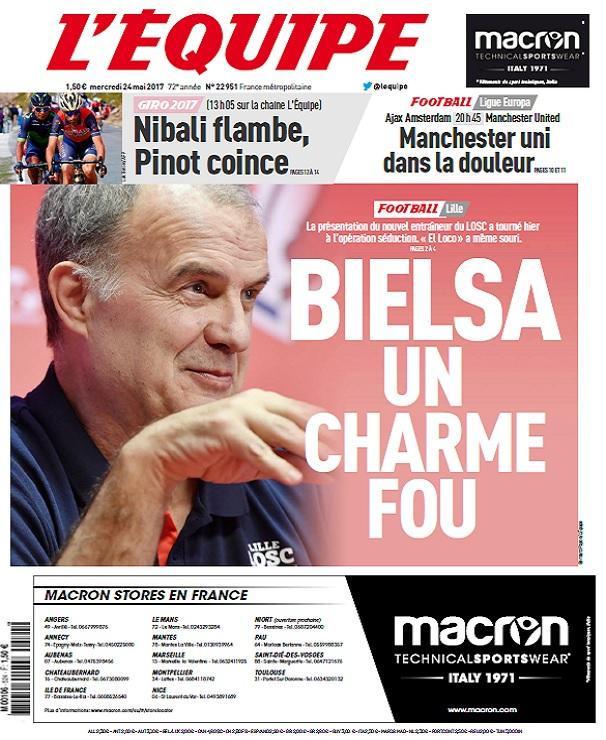 télécharger L'Equipe Du Mercredi 24 Mai 2017