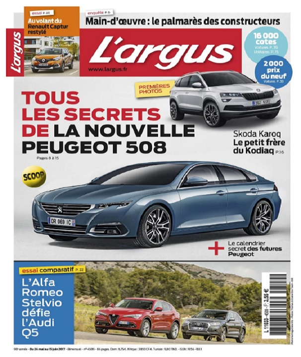télécharger L'Argus N°4509 Du 24 Mai au 15 Juin 2017