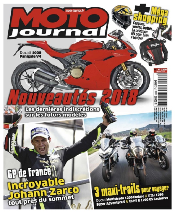 Moto Journal N°2208 Du 25 au 31 Mai 2017