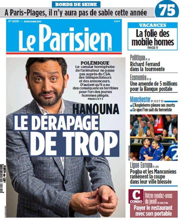 télécharger Le Parisien + Journal De Paris Du Jeudi 25 Mai 2017