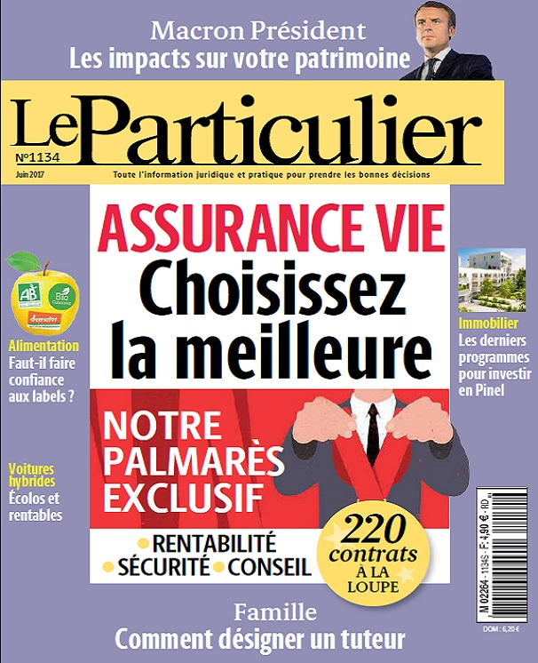 télécharger Le Particulier N°1134 - Juin 2017