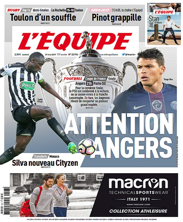 télécharger L'Equipe Du Samedi 27 Mai 2017